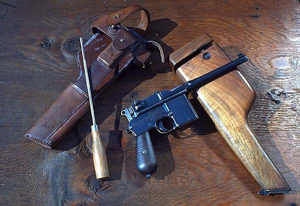 Легендарный пистолет-карабин